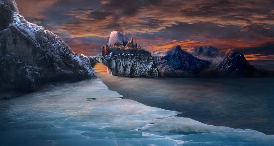 projet école cinéma d'animation 3d & vfx : Le château