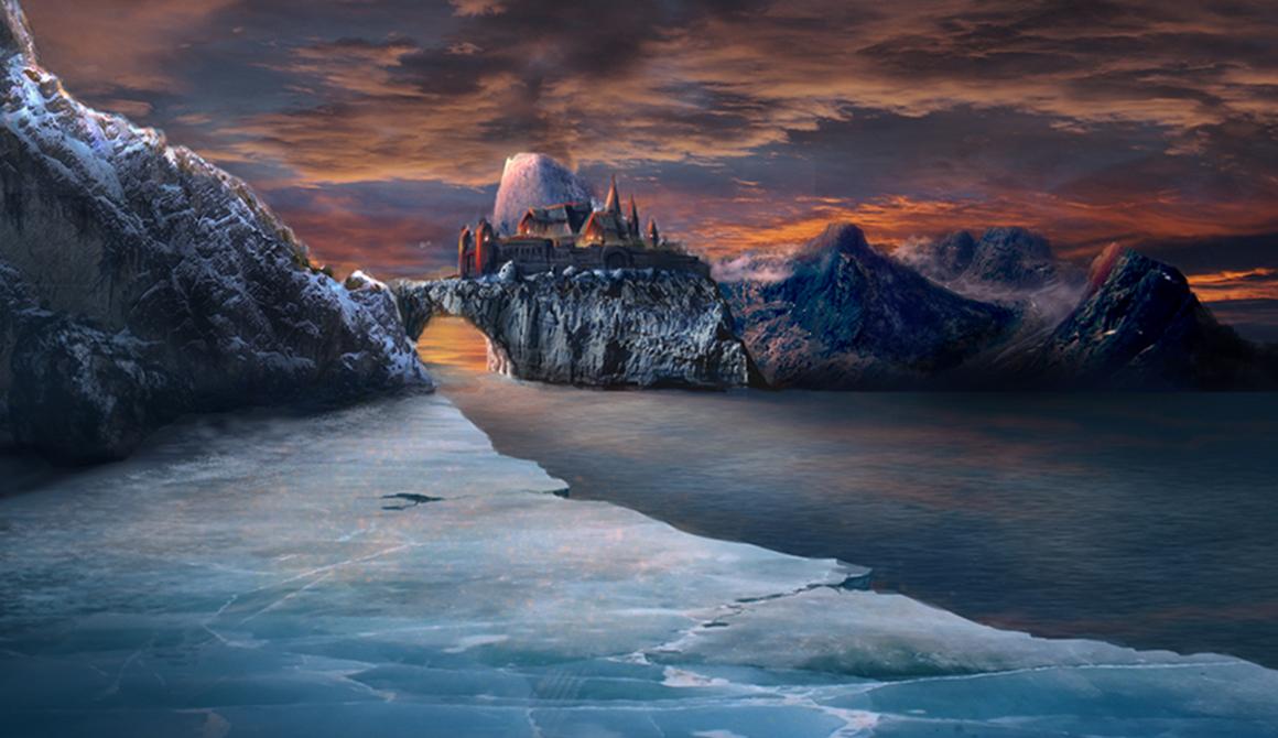 Le château : projet bachelor animation - 3d vfx & jeux vidéo / game art