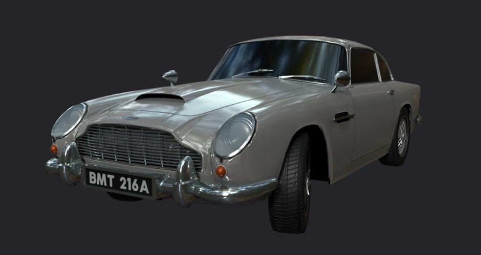 projet école cinéma d'animation 3d & vfx : Automobile