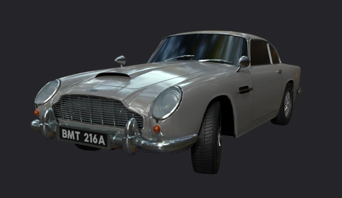 Automobile : projet bachelor animation - 3d vfx & jeux vidéo