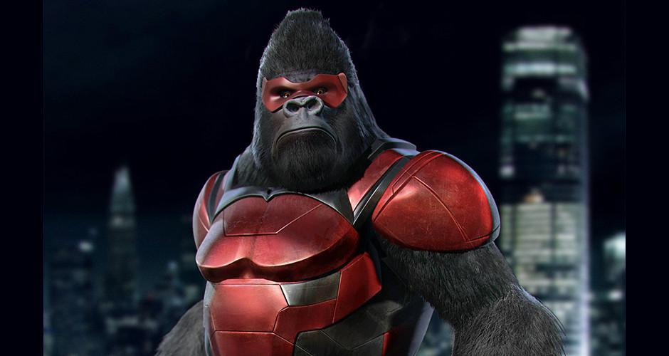 projet école animation 3d et vfx : Super héros