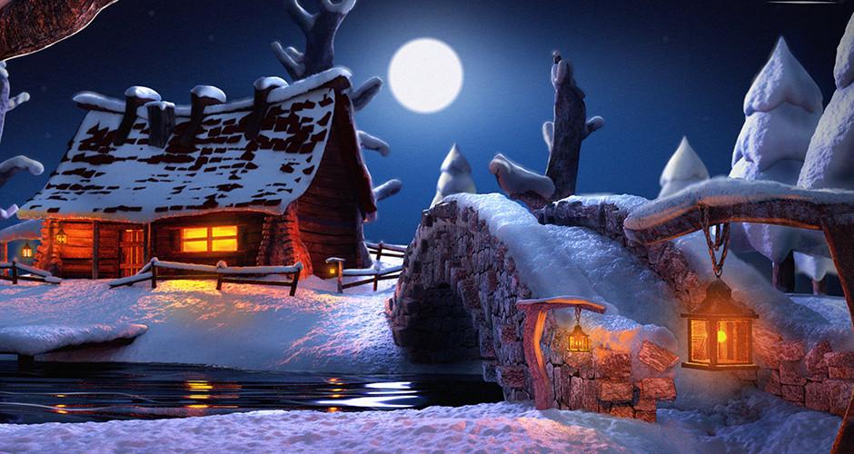 projet école animation 3d et vfx : La cabane