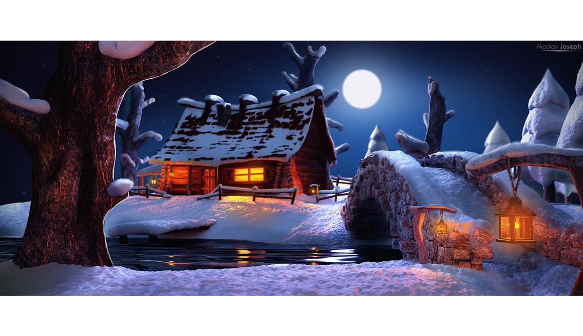 La cabane : projet programme bachelor réalisateur animation 3d vfx