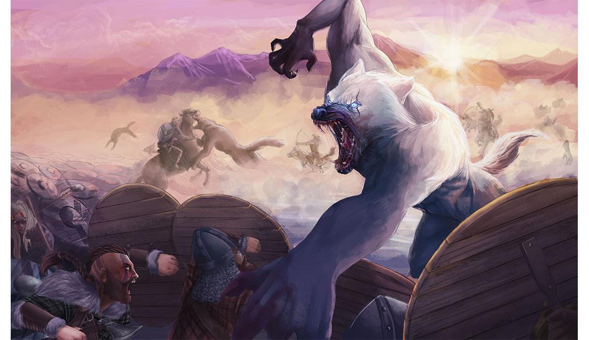 Scène de combat : projet bachelor animation - 3d vfx & jeux vidéo / game art