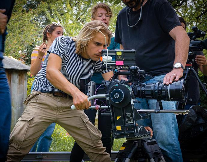 Tournage clip - Étudiants formation cinéma