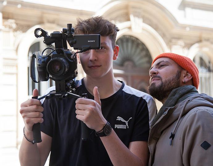 École d'audiovisuel Brassart - réalisation clip