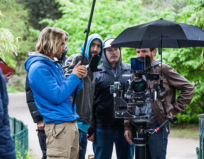 Formation cinéma Brassart : réalisation clip vidéo